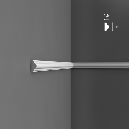Молдинг Orac decor - Axxent (1,9х4х200 см), Артикул  PX120