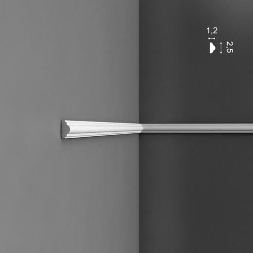 Молдинг Orac decor - Axxent (1,2х2,5х200 см), Артикул  PX103