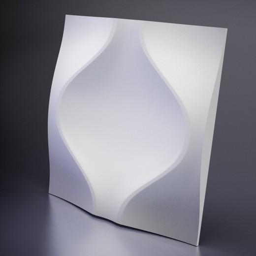 3D Панель Artpole Soul (600х600х52 см), Гипс, Цвет белый