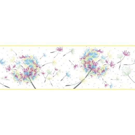 45908 Бордюр Marburg (Kunterbunt) (1*6) 5,00x16 винил на флизелине