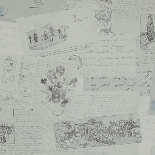 BN 17202 Обои BN (Van Gogh) (1*12) 10,05х0,53 винил на флизе