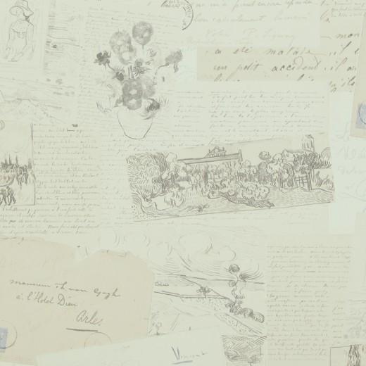 BN 17200 Обои BN (Van Gogh) (1*12) 10,05х0,53 винил на флизе