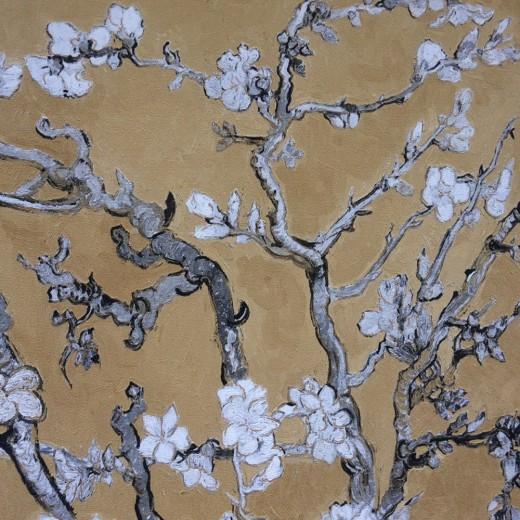 BN 17146 Обои BN (Van Gogh 2/Van Gogh Limited Edition) (1*12) 10,05х0,53 винил на флизе