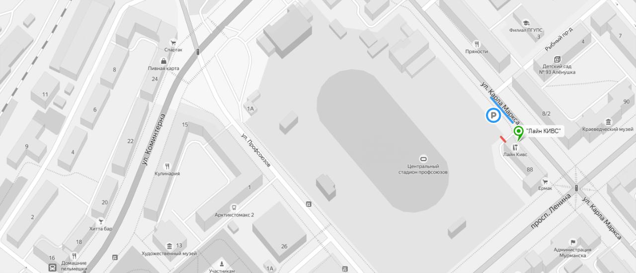 Карта фон
